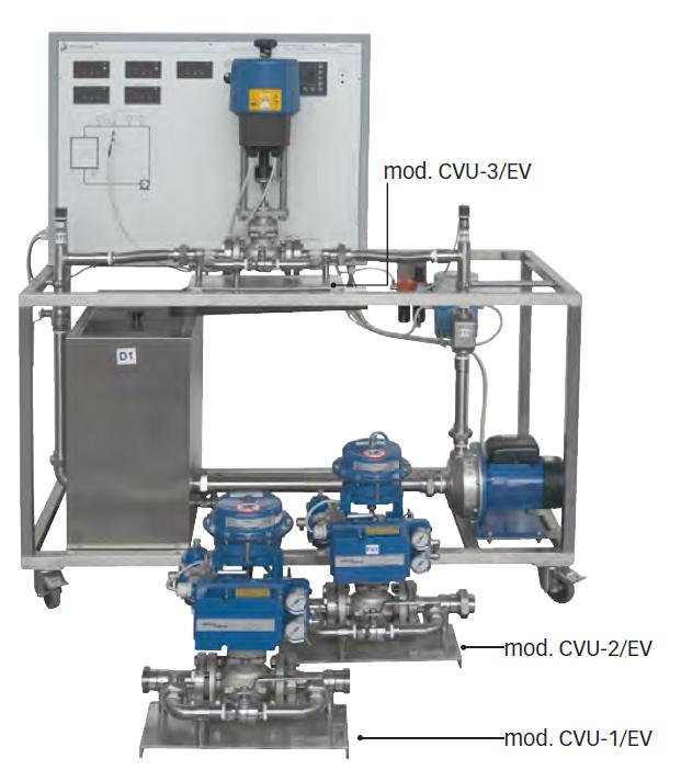 Unidade equipada com válvula de regulação DT-MT024.02.