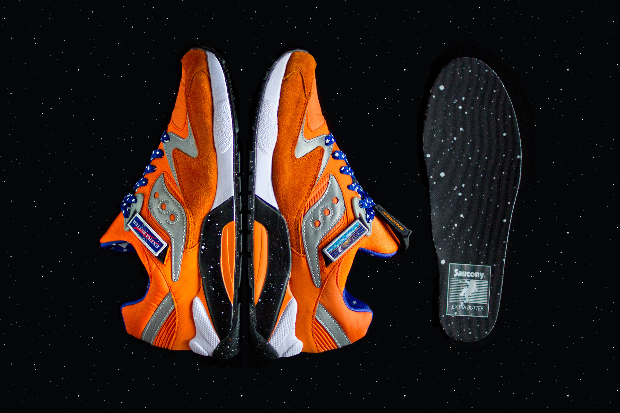 Extra Butter x Saucony Grid 9000 ACES.