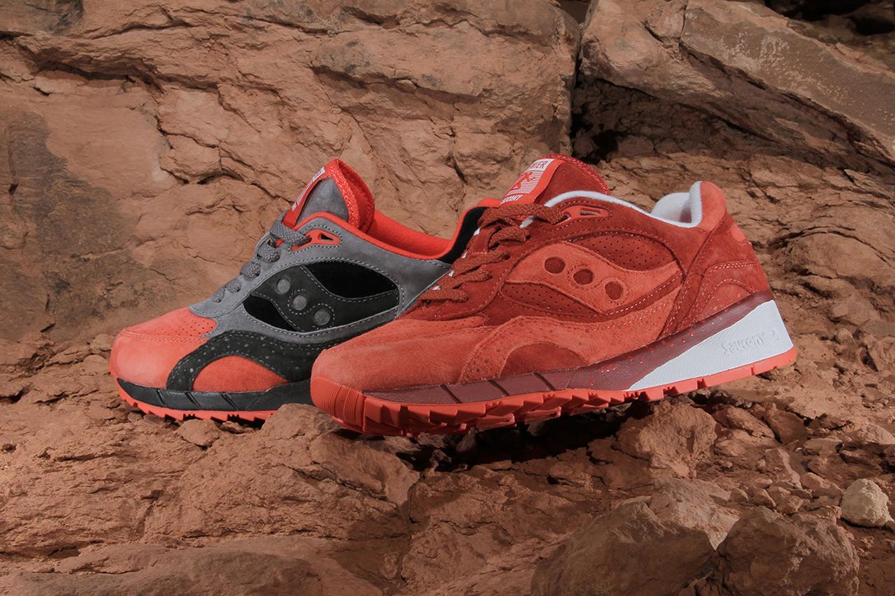 "Premier x Saucony Shadow 6000 ""Life on Mars""."