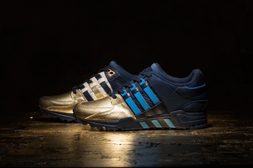 "Ronnie Fieg x Adidas EQT ""NYC's bravest"""