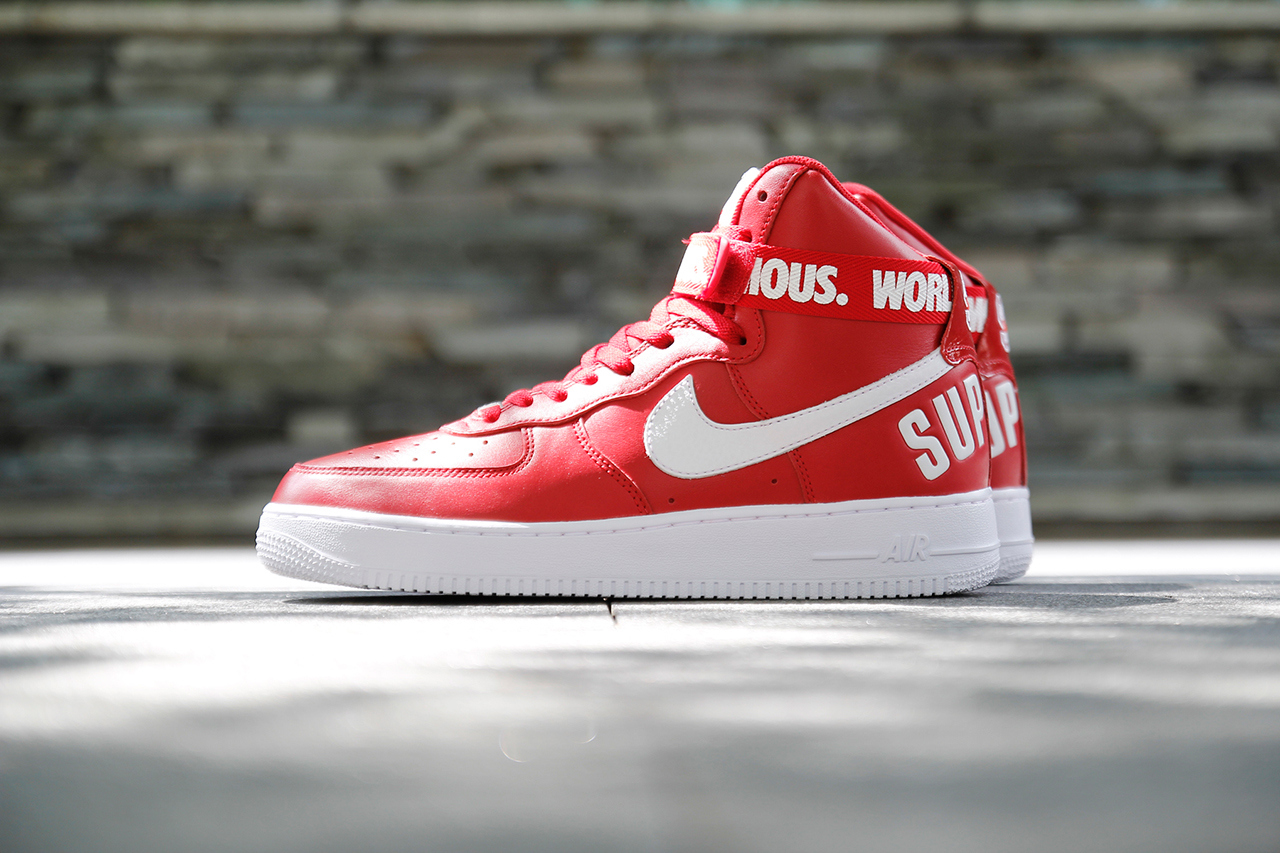 Supreme x Nike Air Force 1 High