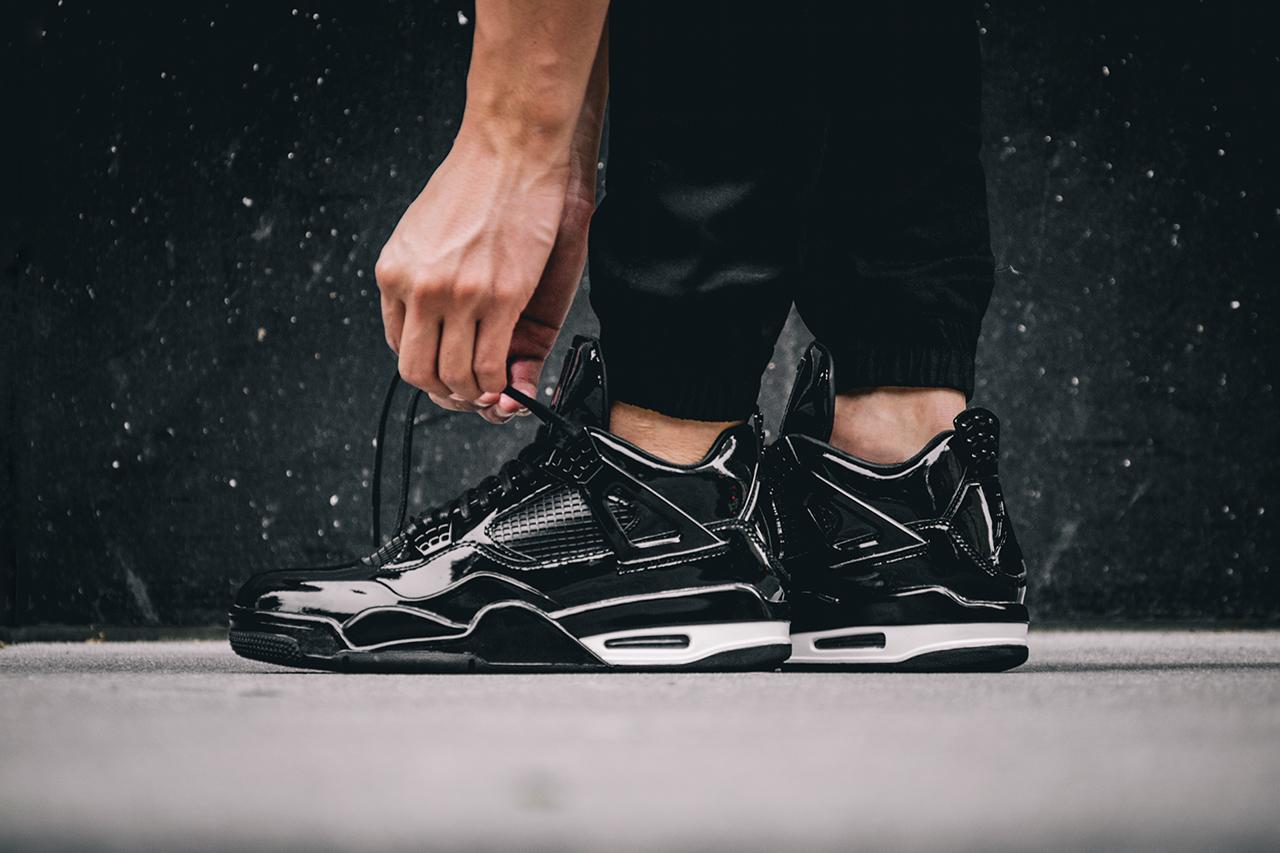 Air Jordan 11Lab4 Black. — Oslo