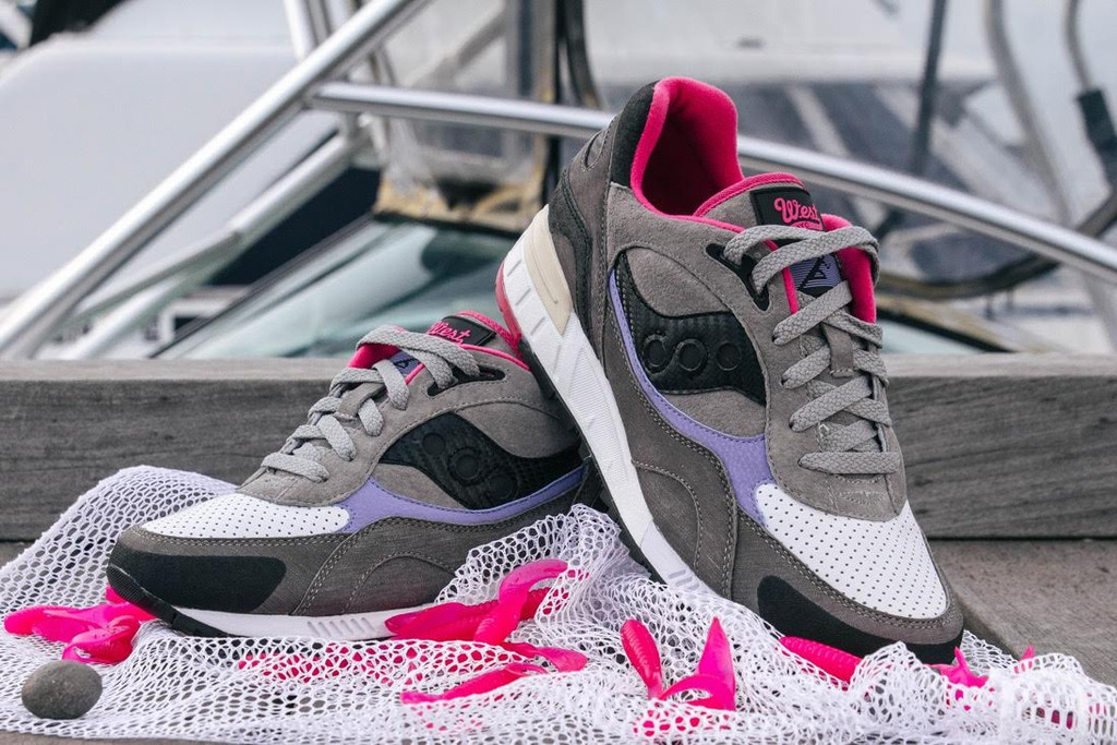 "WEST NYX x Saucony Shadow 90 ""Satlwater Fisherman"""