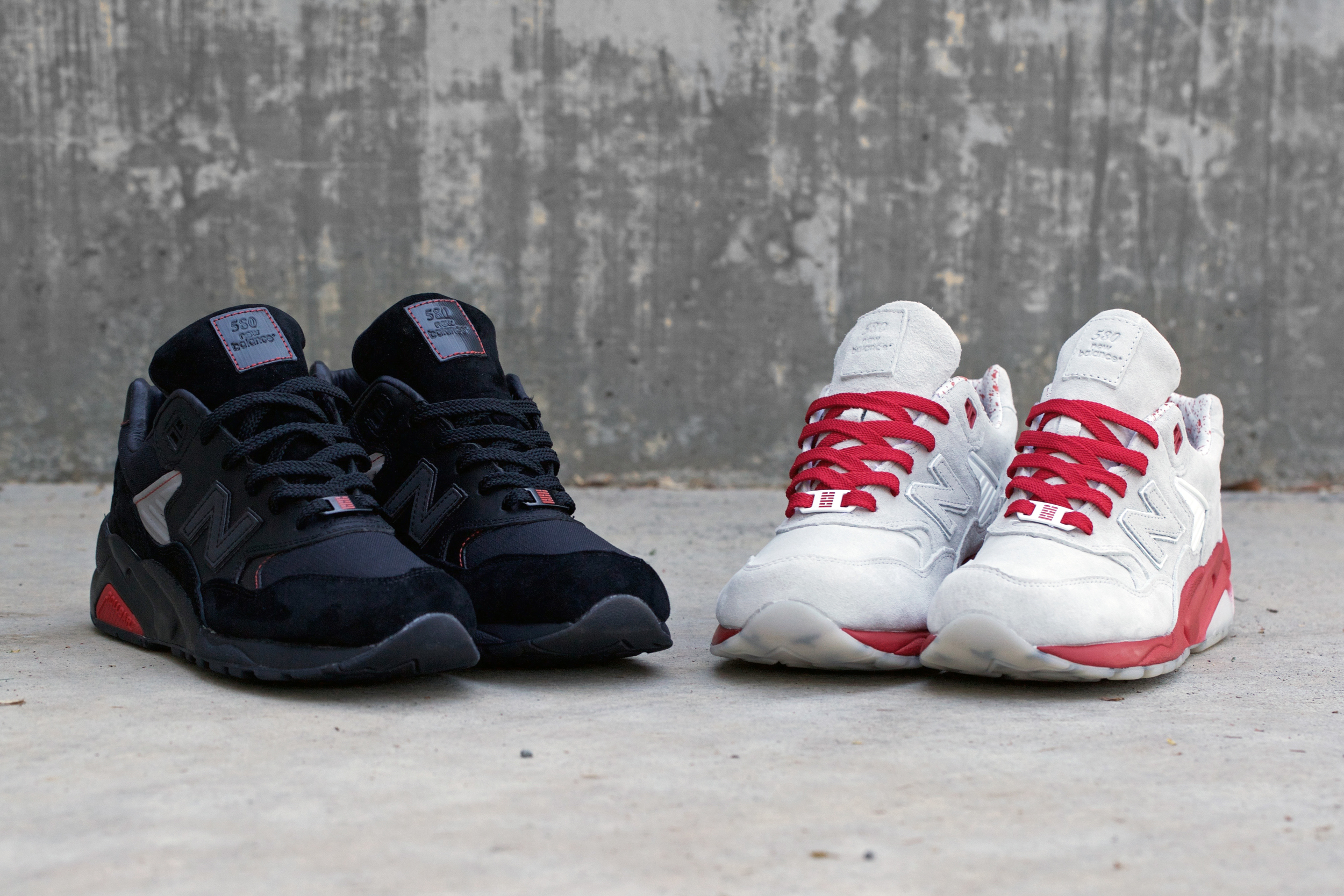 "BAIT X G.I. Joe X New Balance MT 580 ""Storm Shadow"" & ""Snake Eyes""."