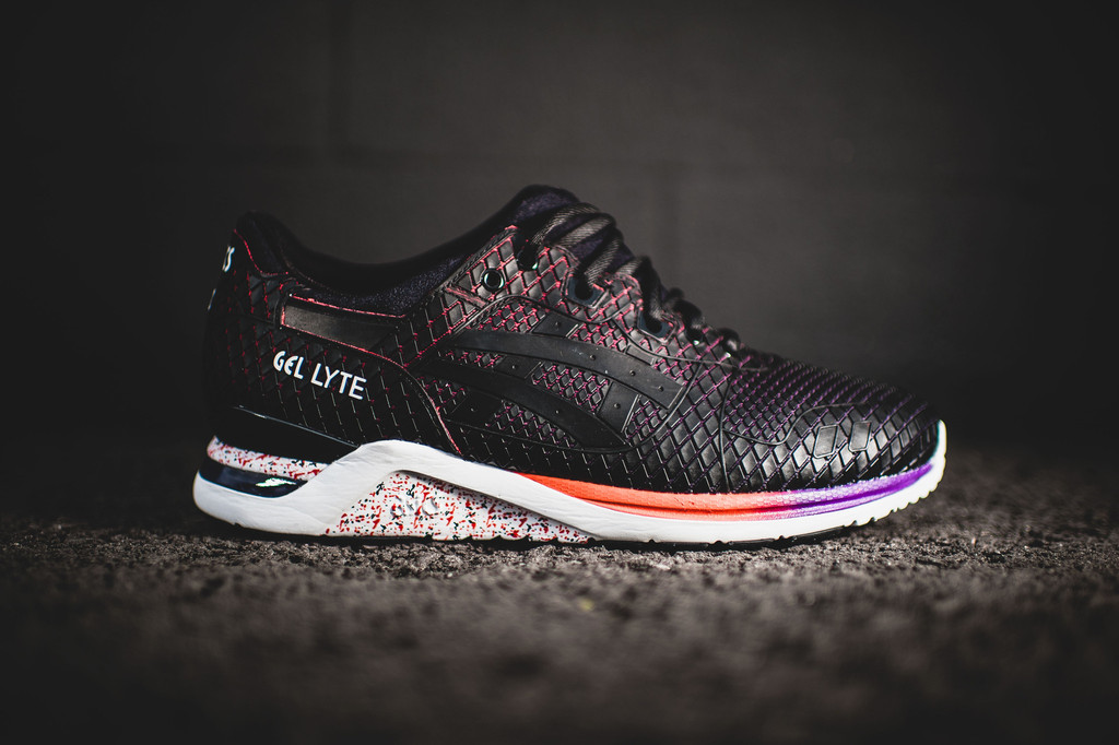 ASICS Tiger GEL Lyte EVO Samurai Pack Dark Grey Light