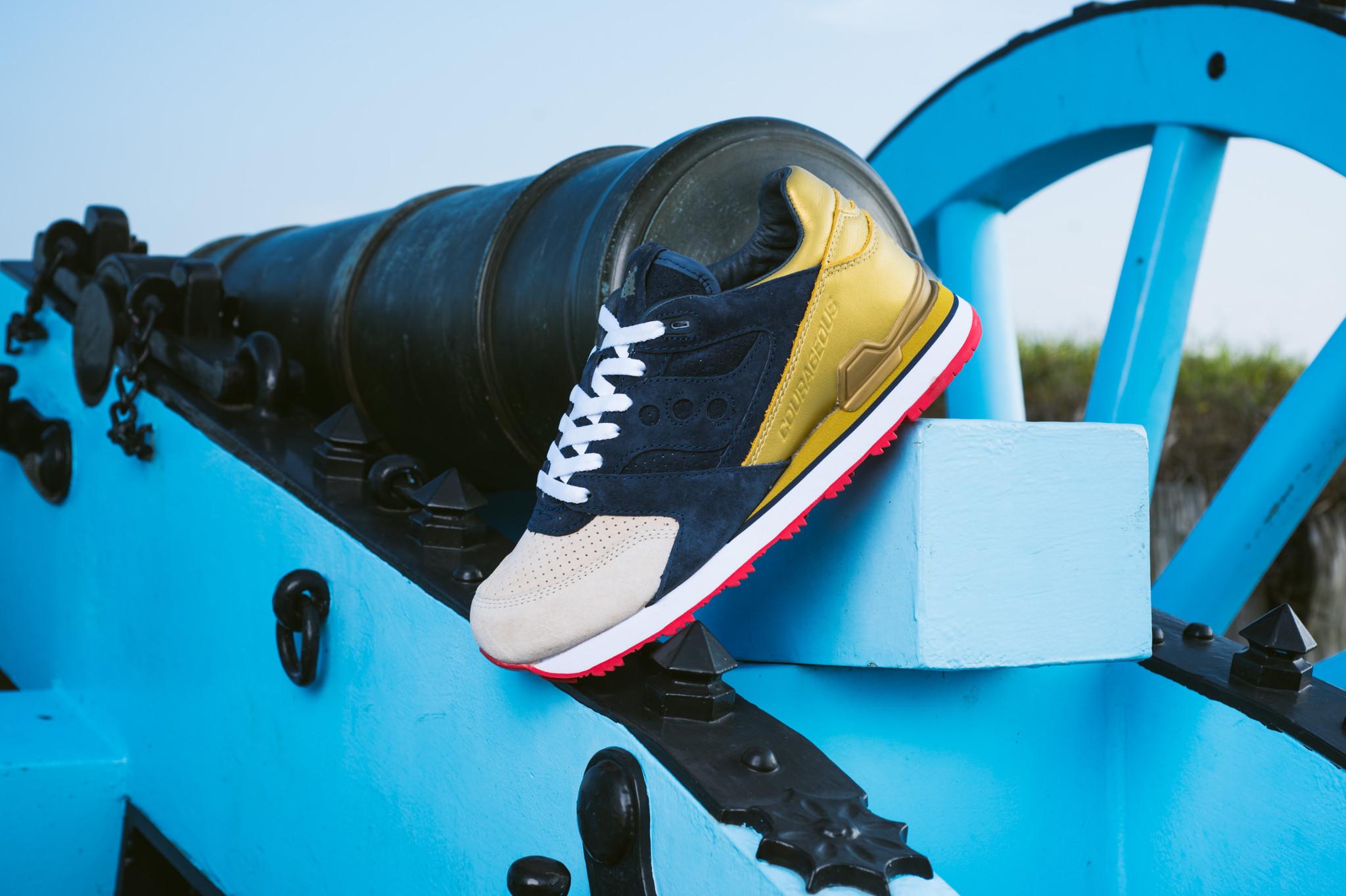 """Sneaker Politics x Saucony Courageous Battle of Nola- """"The Jackson""""."""