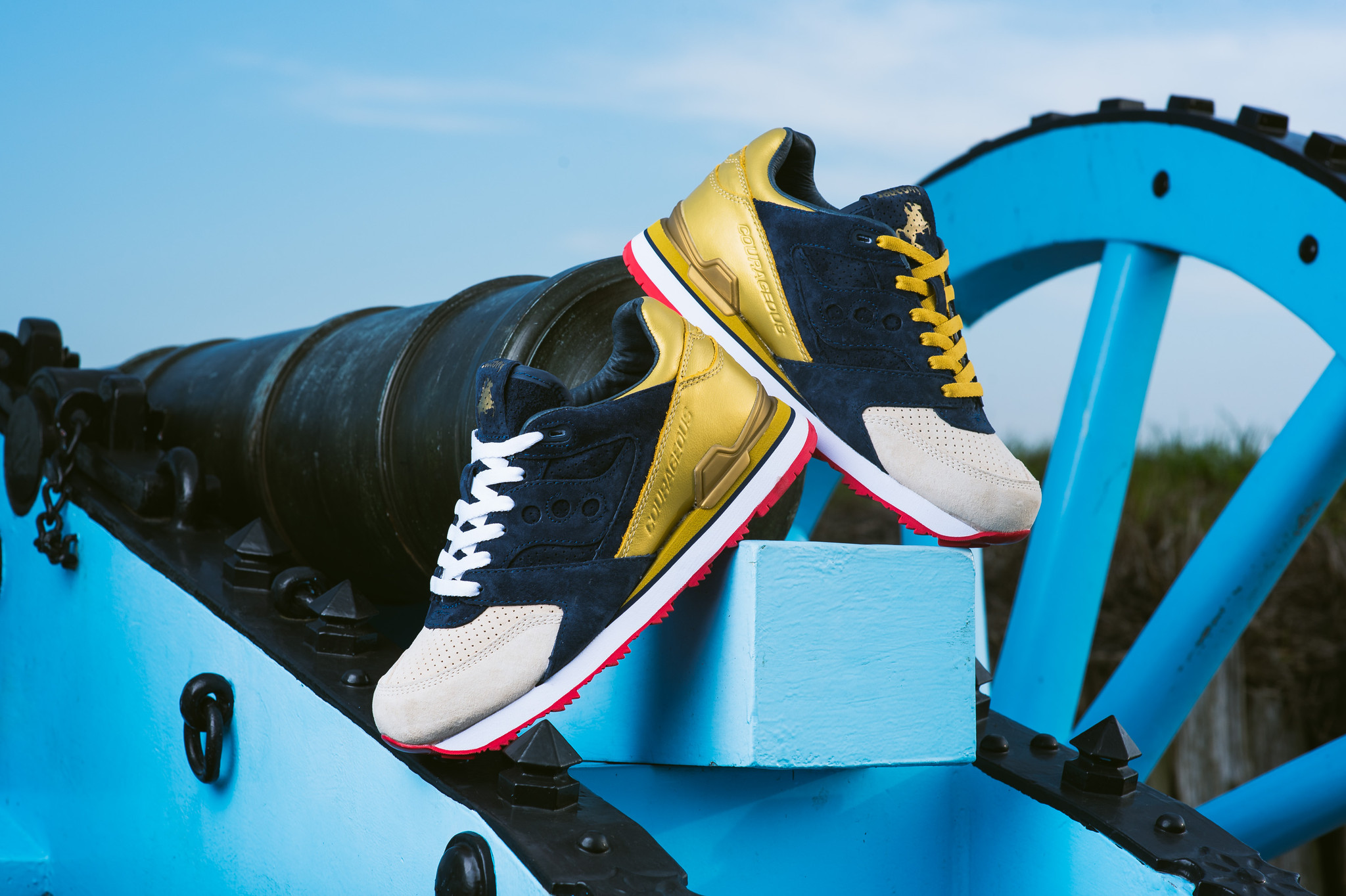 "Sneaker Politics x Saucony Courageous ""The Jackson"""