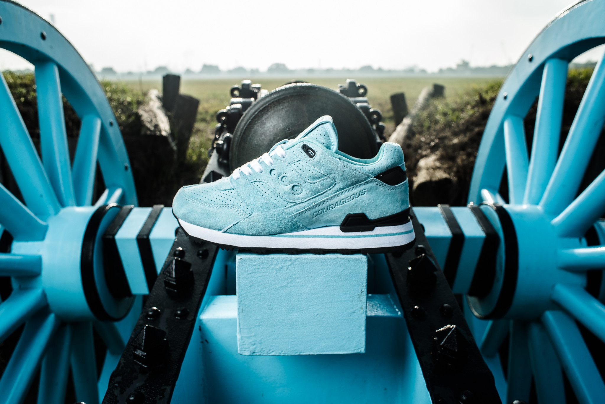 "Sneaker Politics x Saucony Courageous ""The Cannon"""