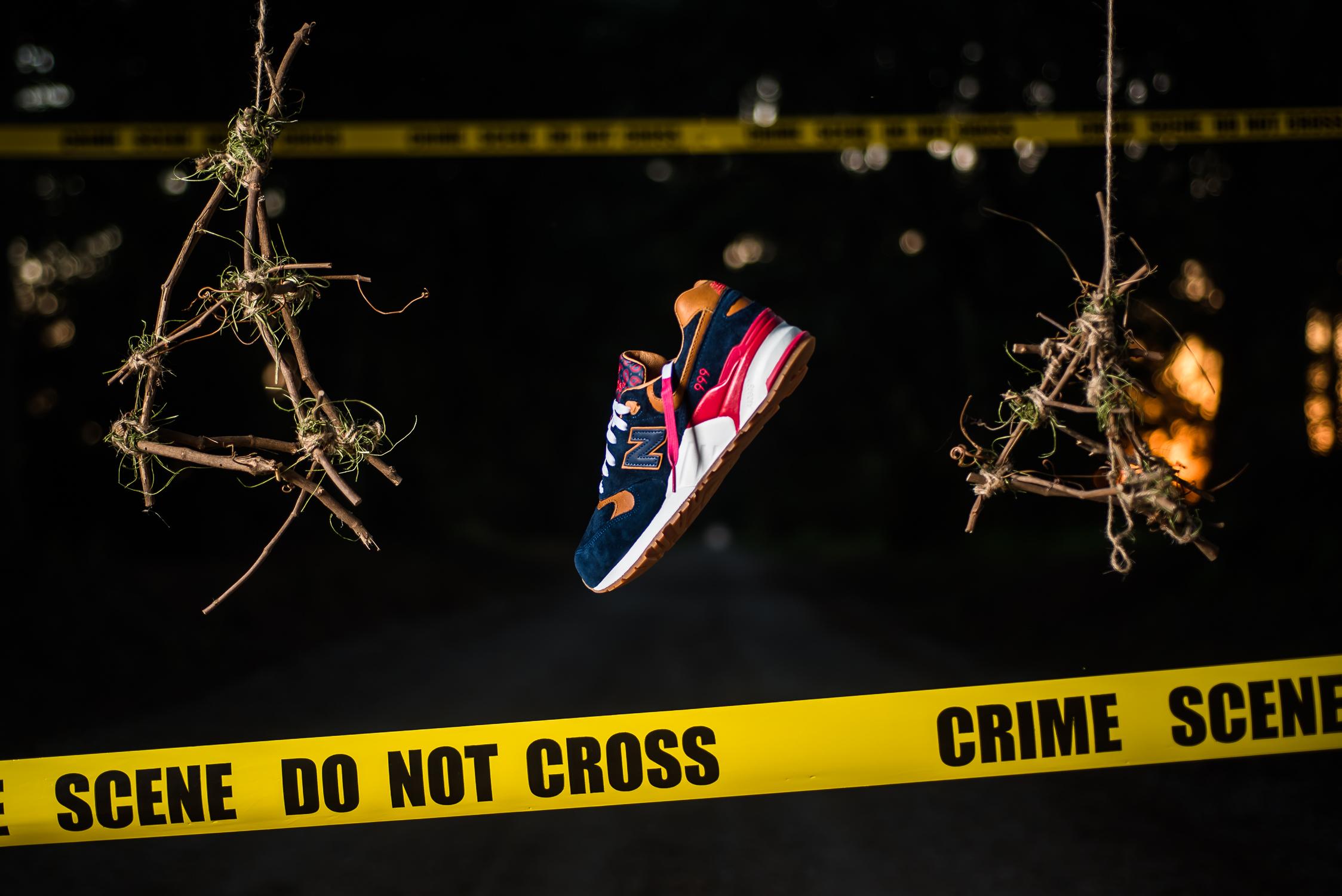 "Sneaker Politics x New Balance 999 ""Case 999"""