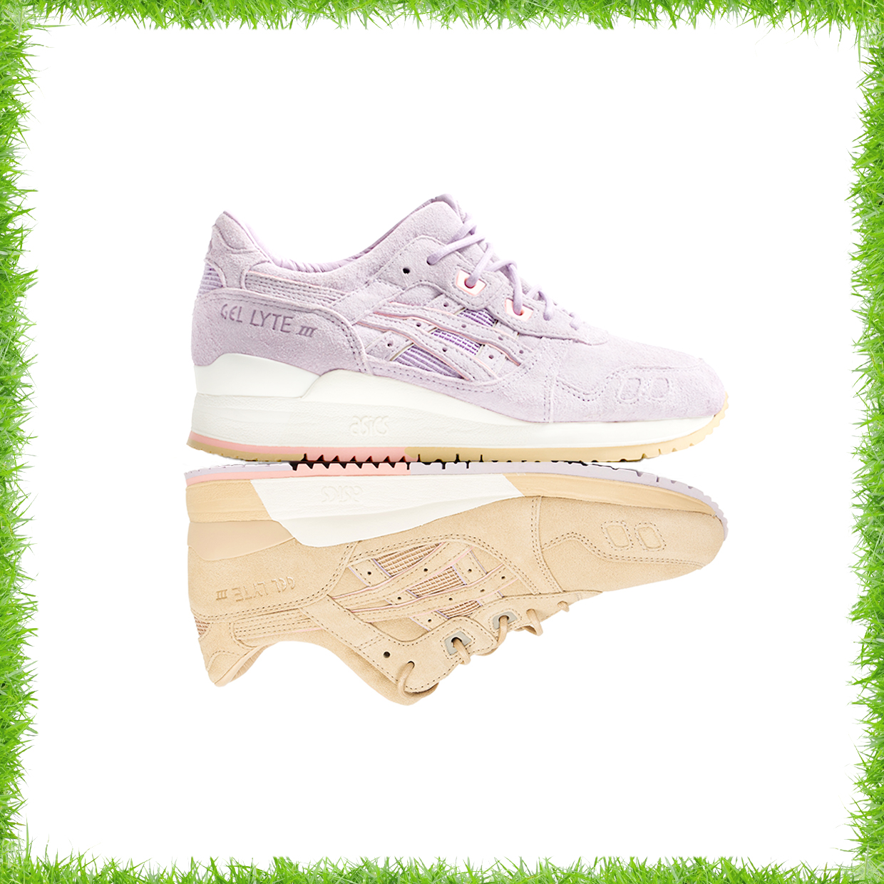 "Clot x Asics Gel Lyte III ""Sand and Lavender"""