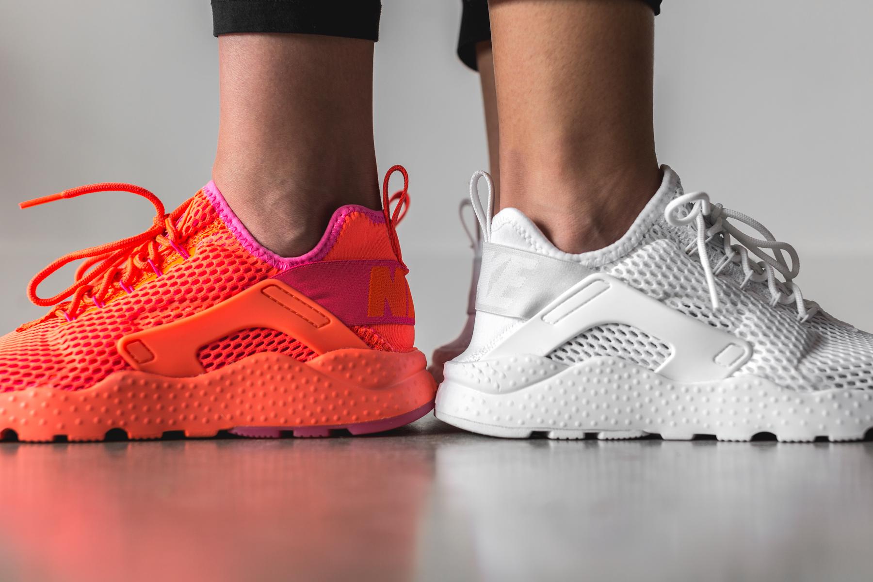 "cheap best sale release date Nike Women Air Huarache Run Ultra BR ""White"" & ""Total ..."