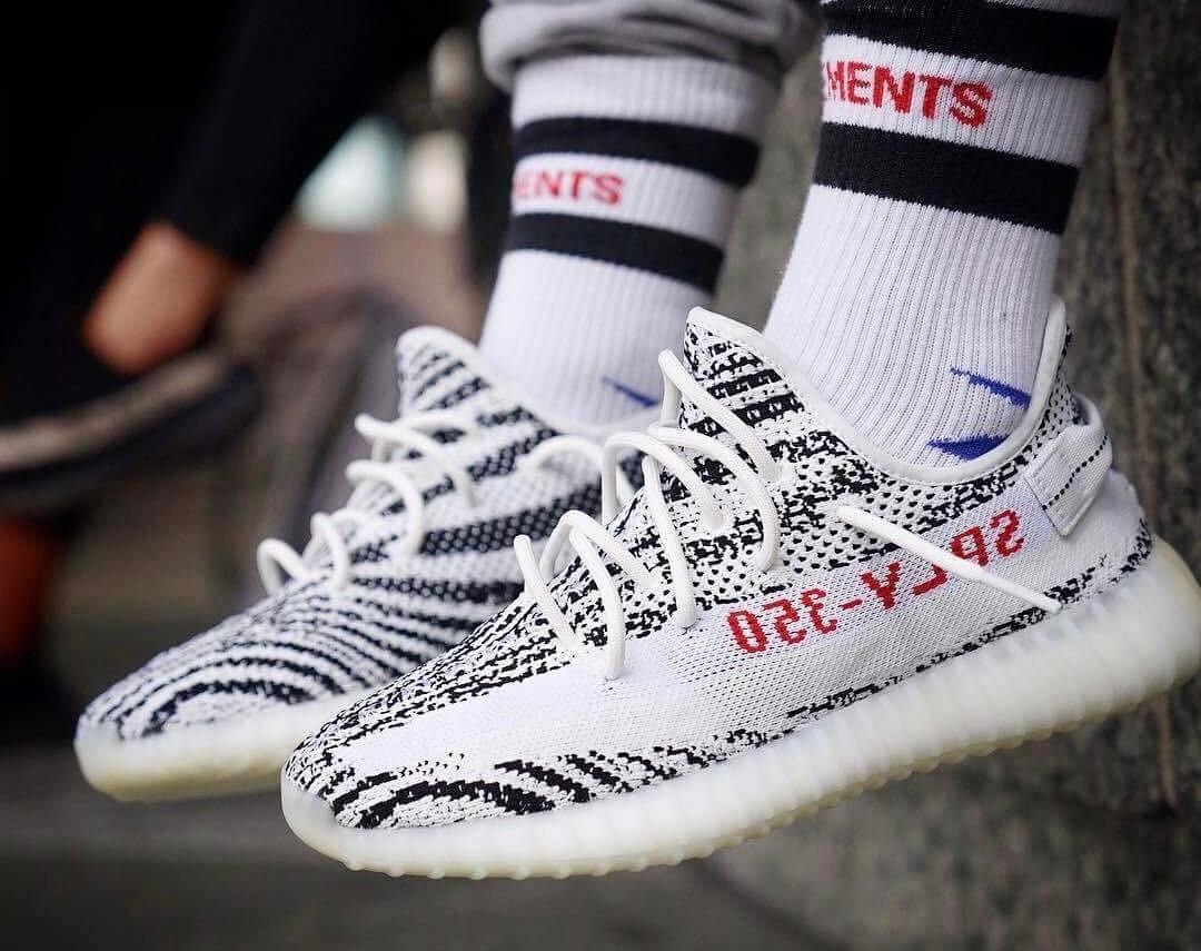"""YEEZY 350 V2 """"Zebra"""""""