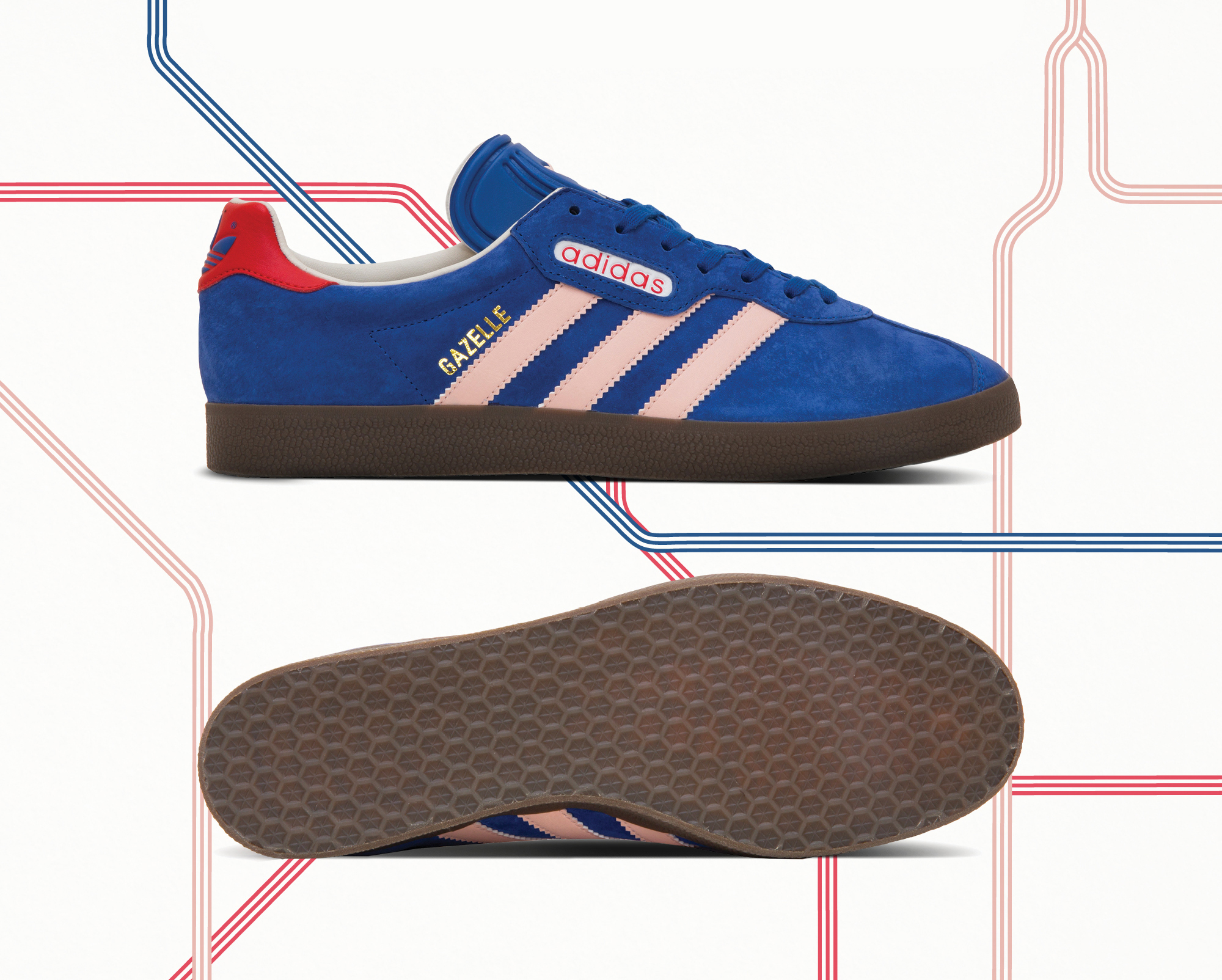 """Size? Exclusive adidas Originals Archive """"London to Manchester ..."""