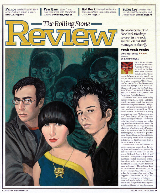 Yeah Yeah Yeahs  | The Rolling Stone Review