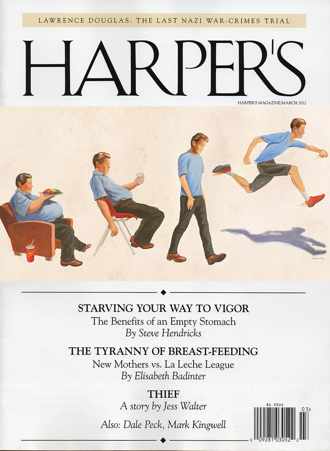Starving Your Way To Vigor  | Harper's magazine cover