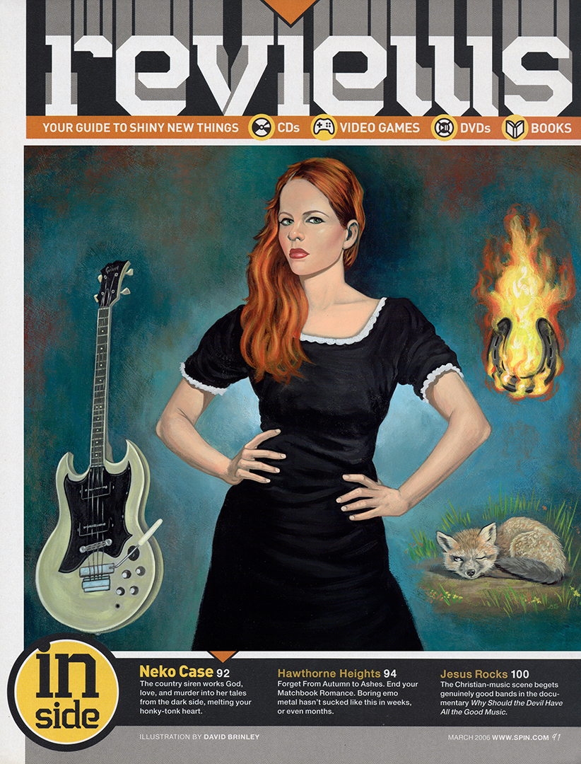 Neko Case - Fox Confessor Brings The Flood   | SPIN magazine review