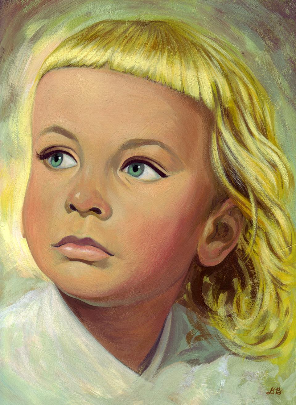 Birgitta   Acrylic on paper  Chosen American Illustration 25
