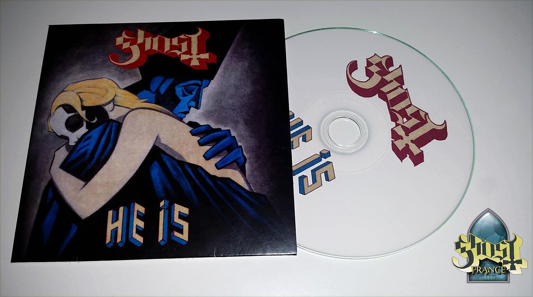 GHOST | HE IS CD promo (France)