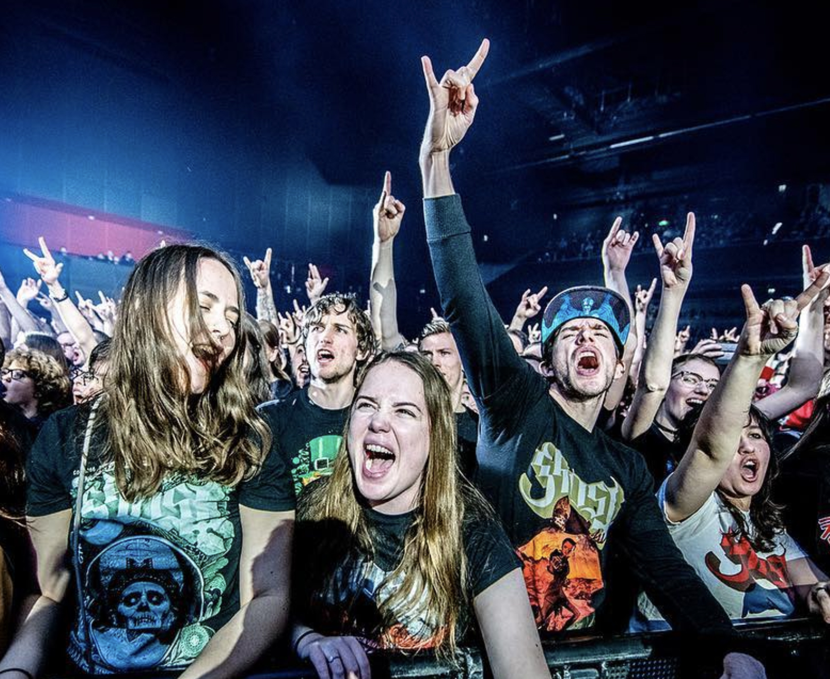 GHOST fans    Ferdy Damman photography