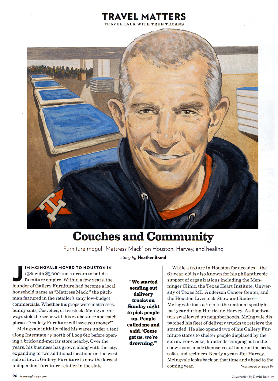 "Jim McIngvale, ""Mattress Mack""  