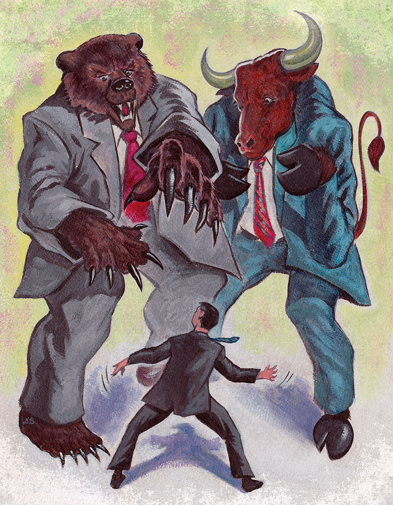 BULLS AND BEARS!  | On Wall street magazine