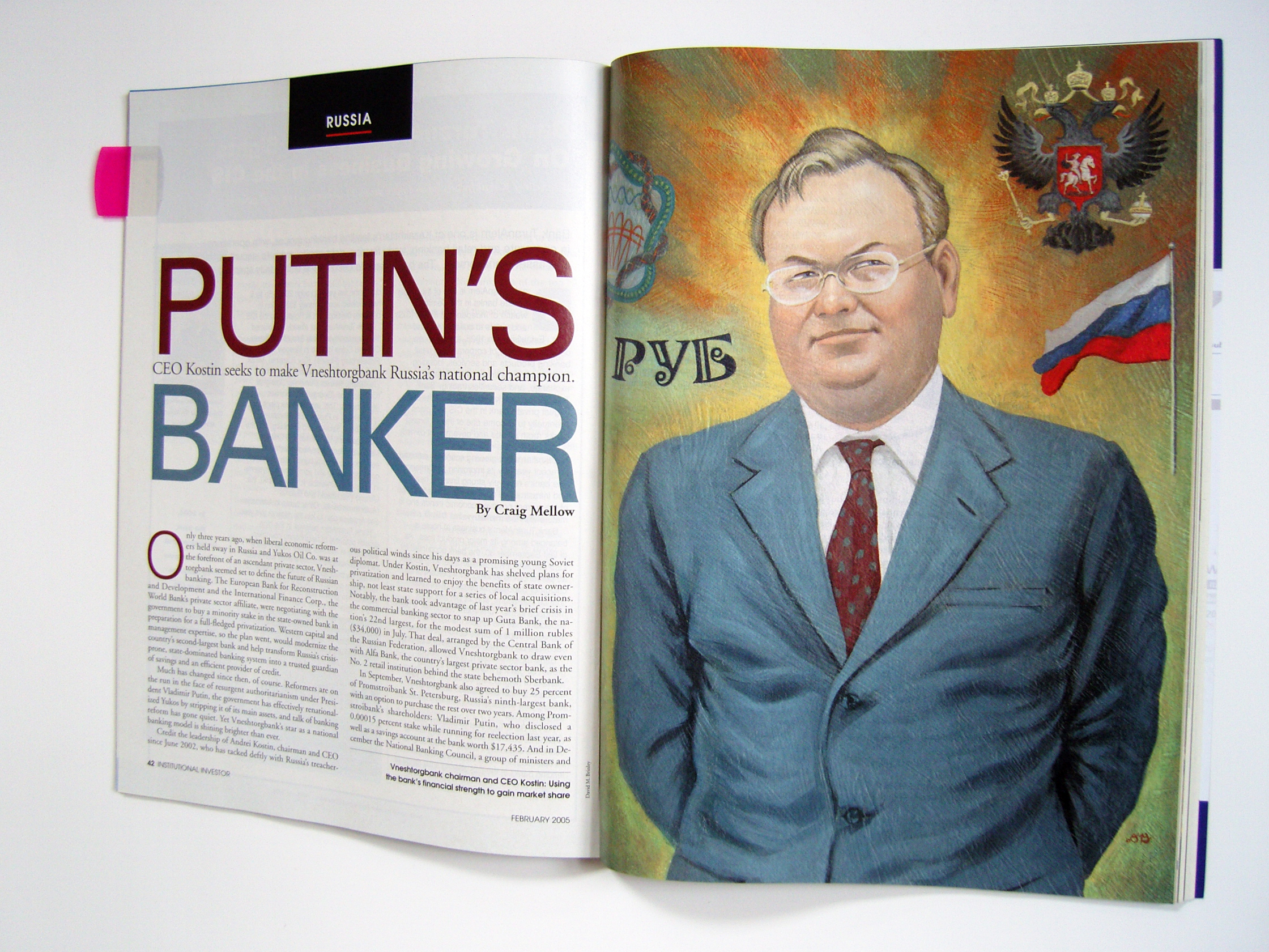 Putin's Banker  | Institutional Investor magazine