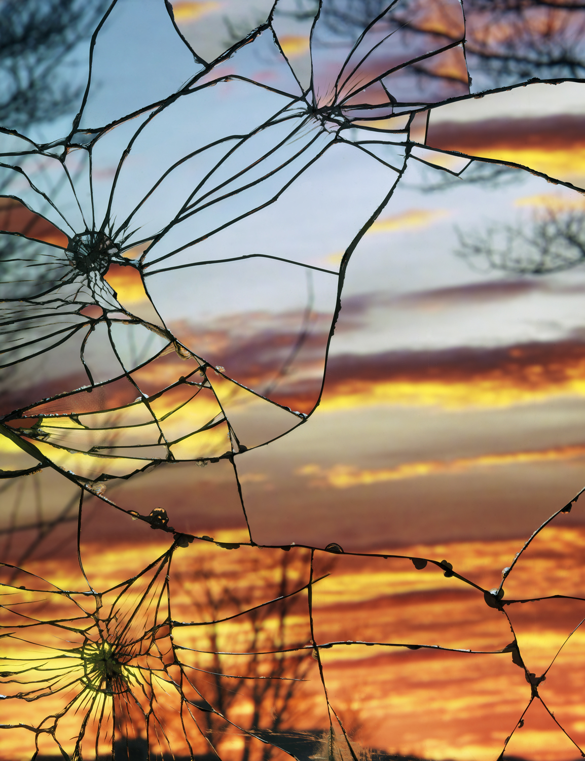 Broken Mirror/Evening Sky (Anscochrome)