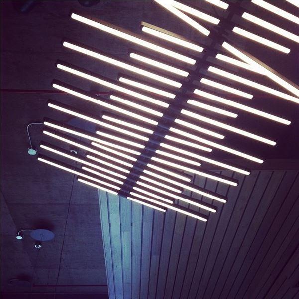 Am digging this sweet light fixture I saw today during my Texas site walk  #LED   #LEED   #Platinum   #LEEDPlatinum   #studiored   #sustainableconstruction   #sustainability   #leedconsulting   #energysaving   #kristibyersarchitect