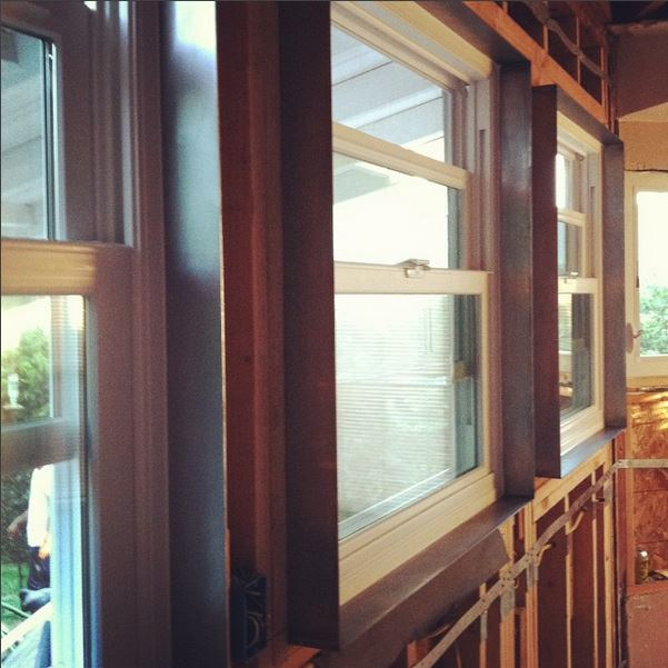 Love me some  #steel   #window  surrounds. Good job team  @popeofjbwelding   @dannychop619   #shescomingtogether   #kitchen   #modern   #oldmeetsnew   #livesmall   #kristibyersarchitect