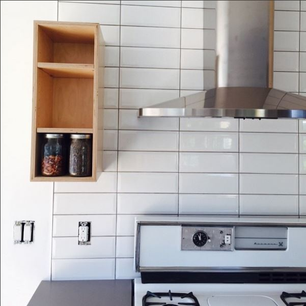 The  #kitchen  is almost complete  #iloveitwhenaplancomestogether   @popeofjbwelding   #northpark   #quartz   #balticbirch   #kenmore   #modern   #renovation   #tile   #greyisacolor   #kristibyersarchitect   #ourownprojectstakealongtimebecausewefocusonourclients  with a little help from our friends  @wrenhifi   @darlingtarantula