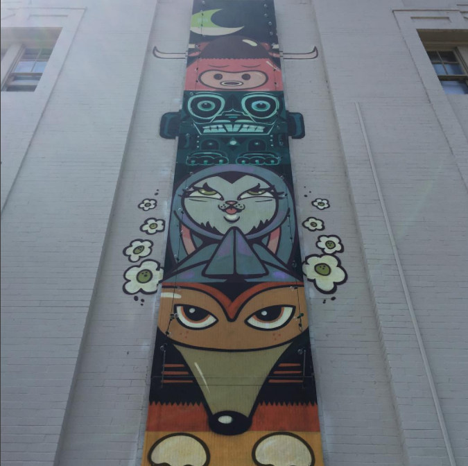 Love me some  @_bunnykitty_  #bankershill   #community   #sandiego   #art   #urbanart   #streetart   #bunnykitty