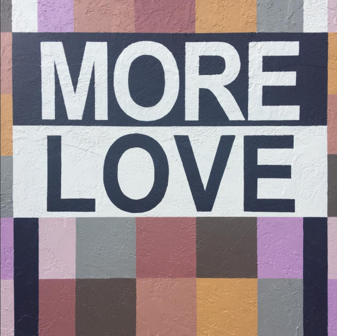 #morelove  #love   #southpark   #mural   #art   #publicart   #haleproductions   #sandiego   #urbanart   #monday   #happymonday