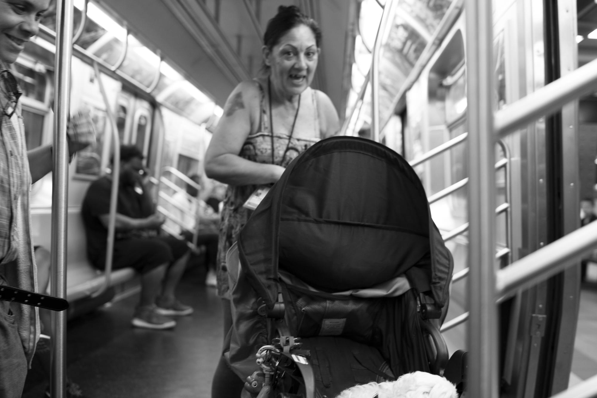 Q Train Manhattan, N.Y