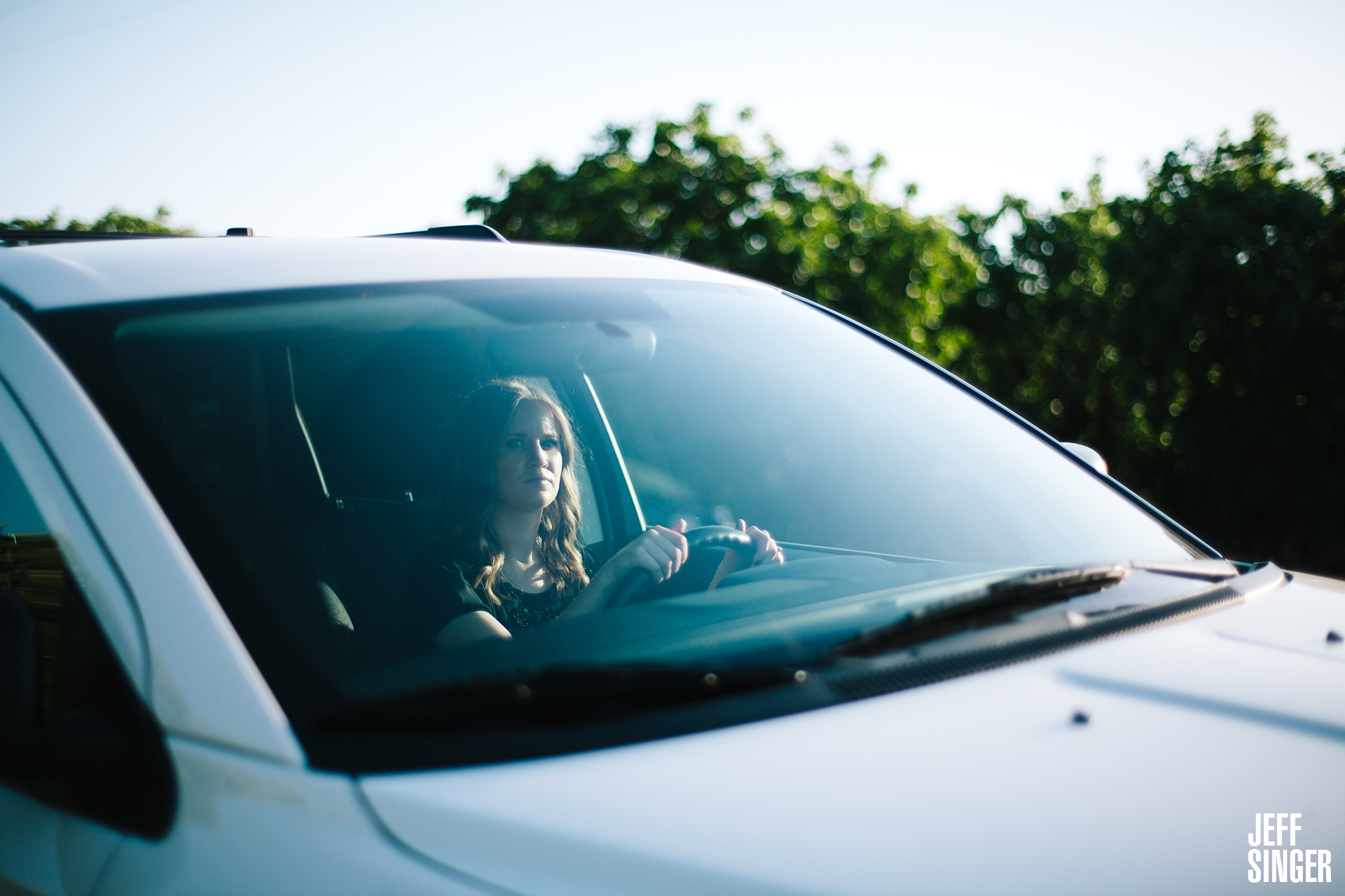 Danica Lacy Behind The Wheel