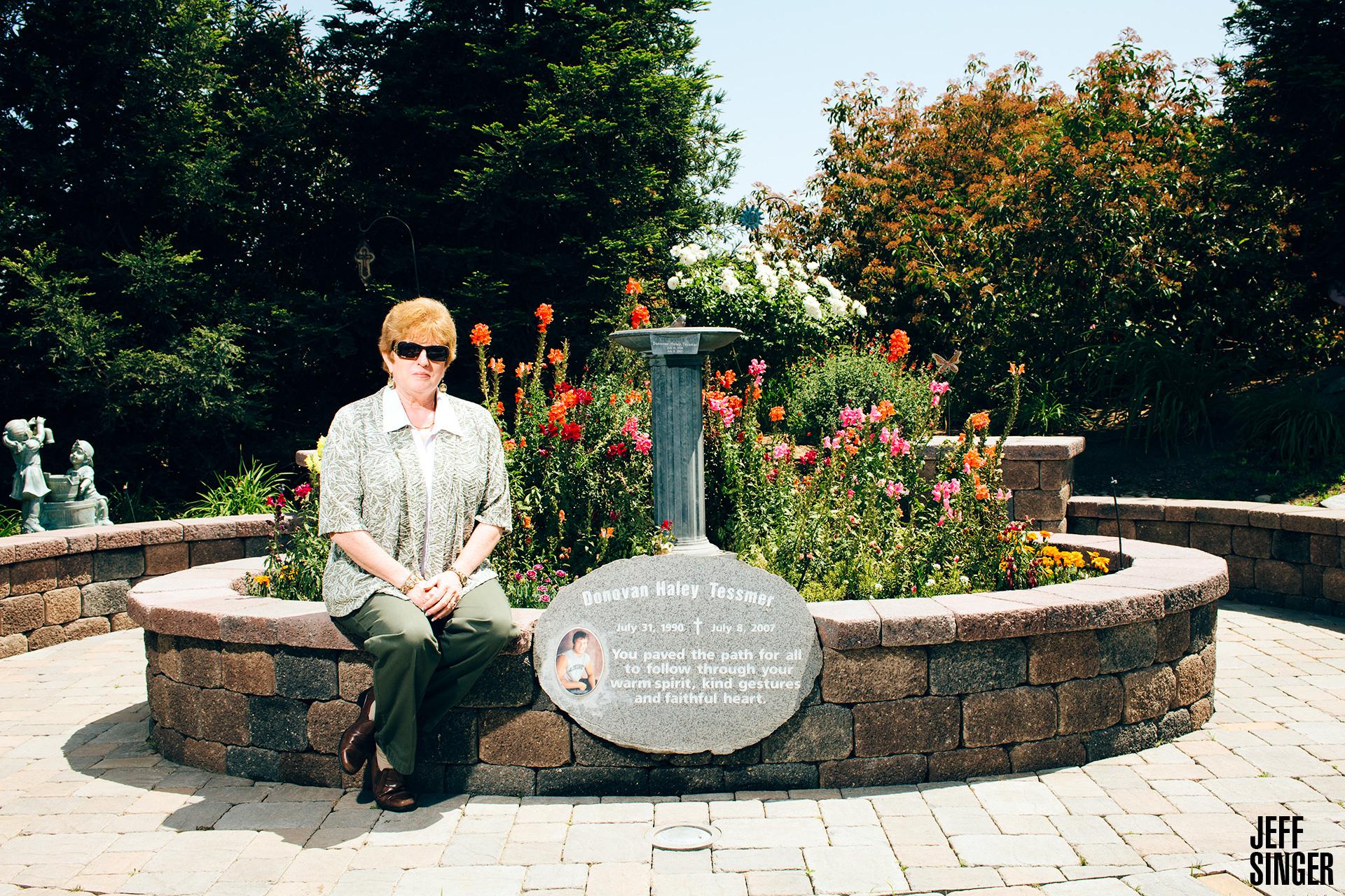 Martha Tessmer Backyard Memorial