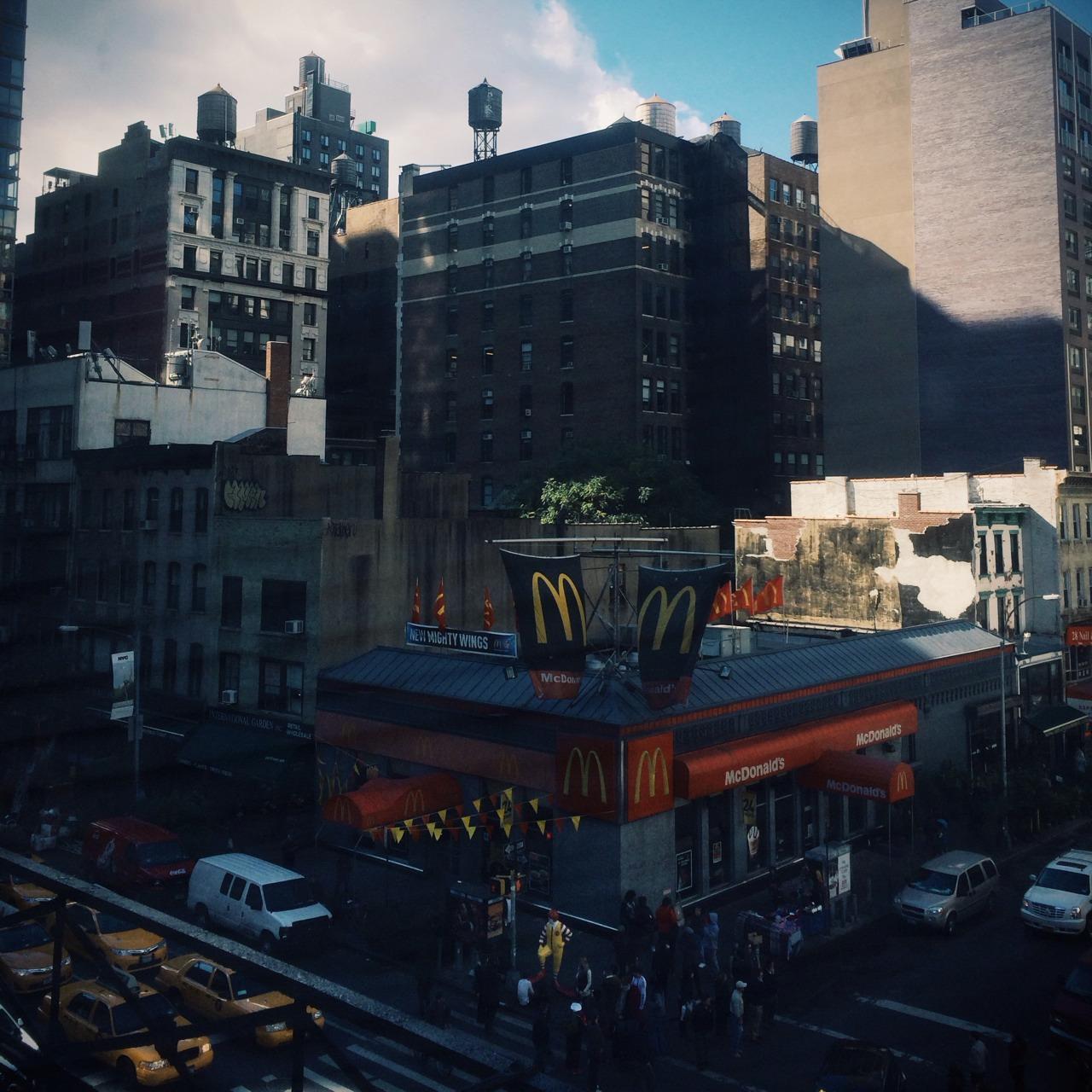 Banksy McDonald's New York