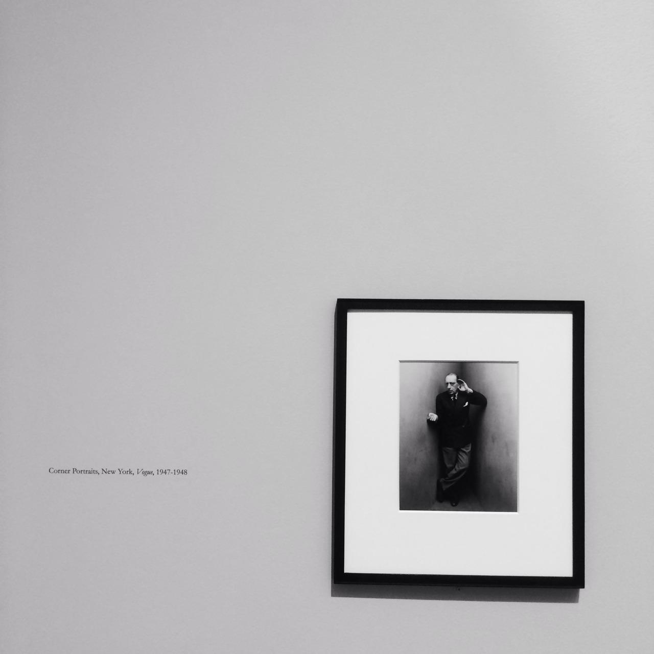 Irving Penn Corner Portraits