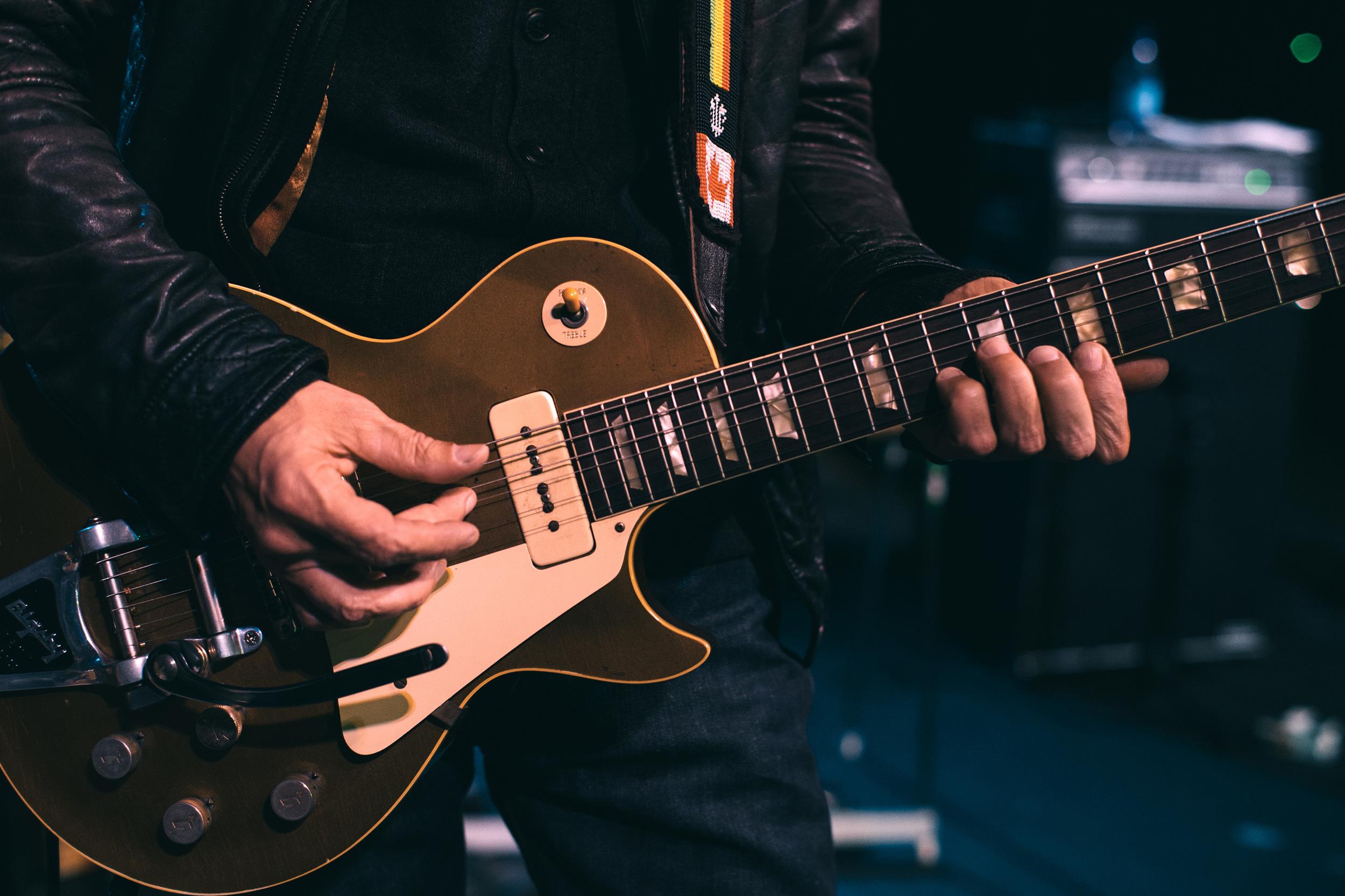 Dan Lanois, 1953 Gibson Les Paul Goldtop