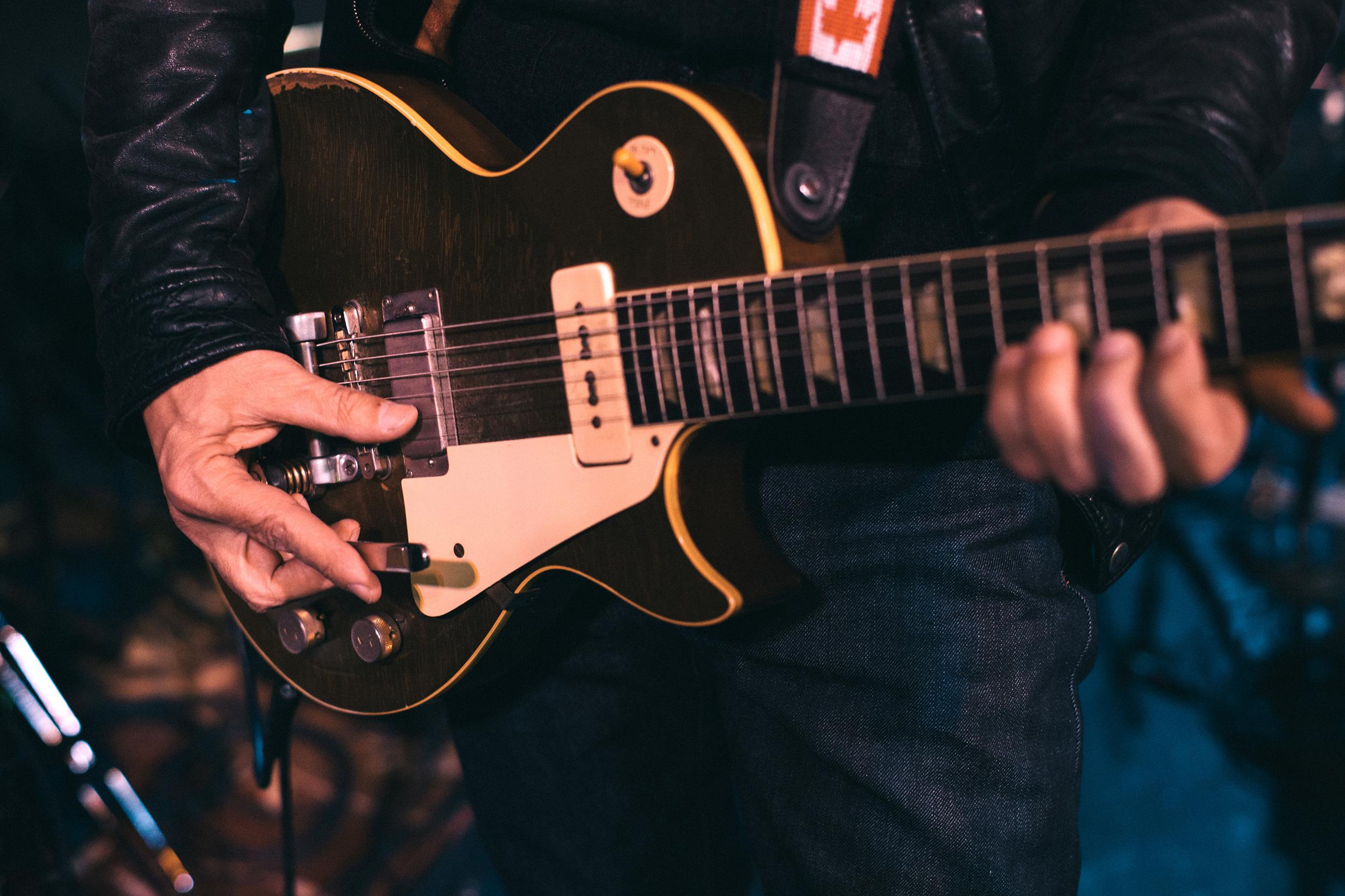 Dan Lanois: 1953 Gibson Les Paul Goldtop
