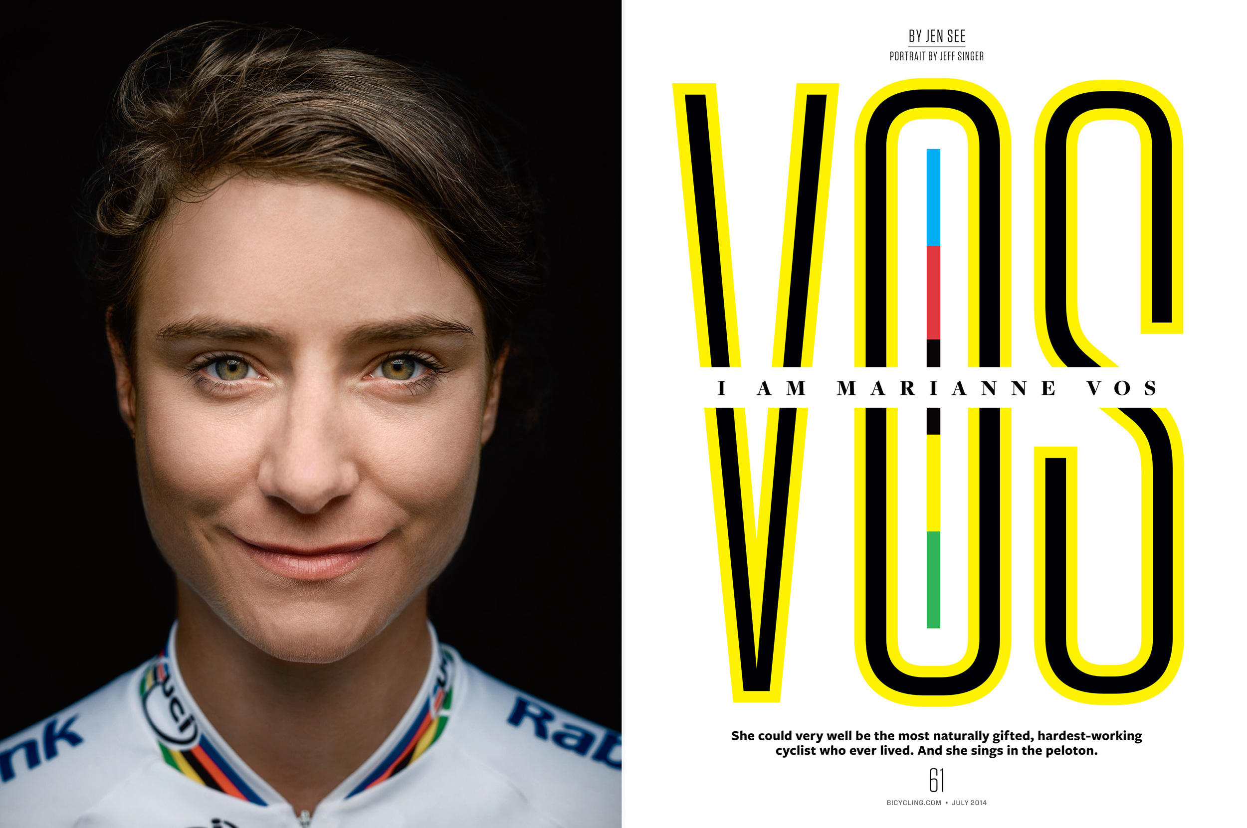 Marianne Vos, Bicycling Magazine