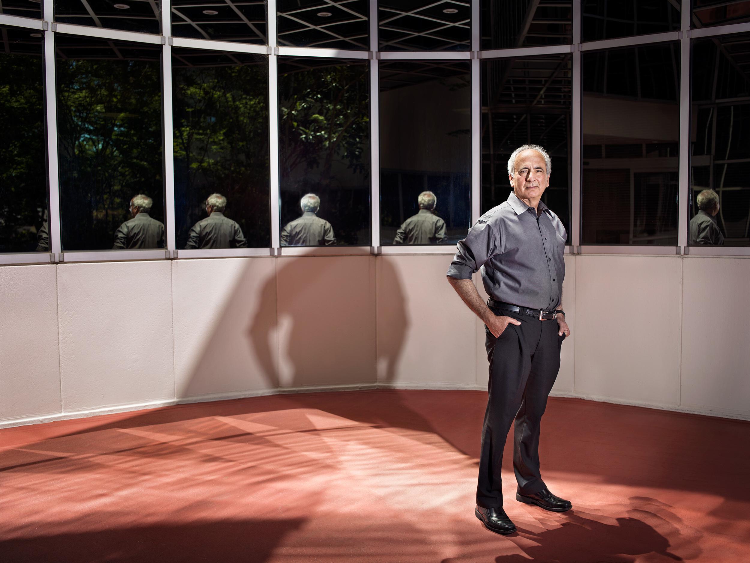 Norman Winarsky at SRI International headquarters