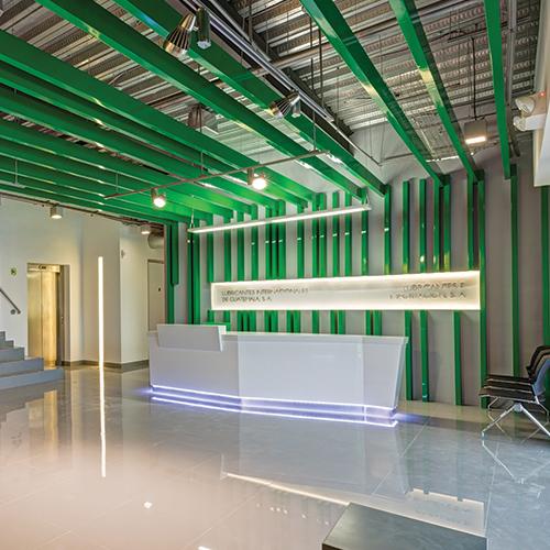 Grupo Suca LEED CI Certified Major Renovation