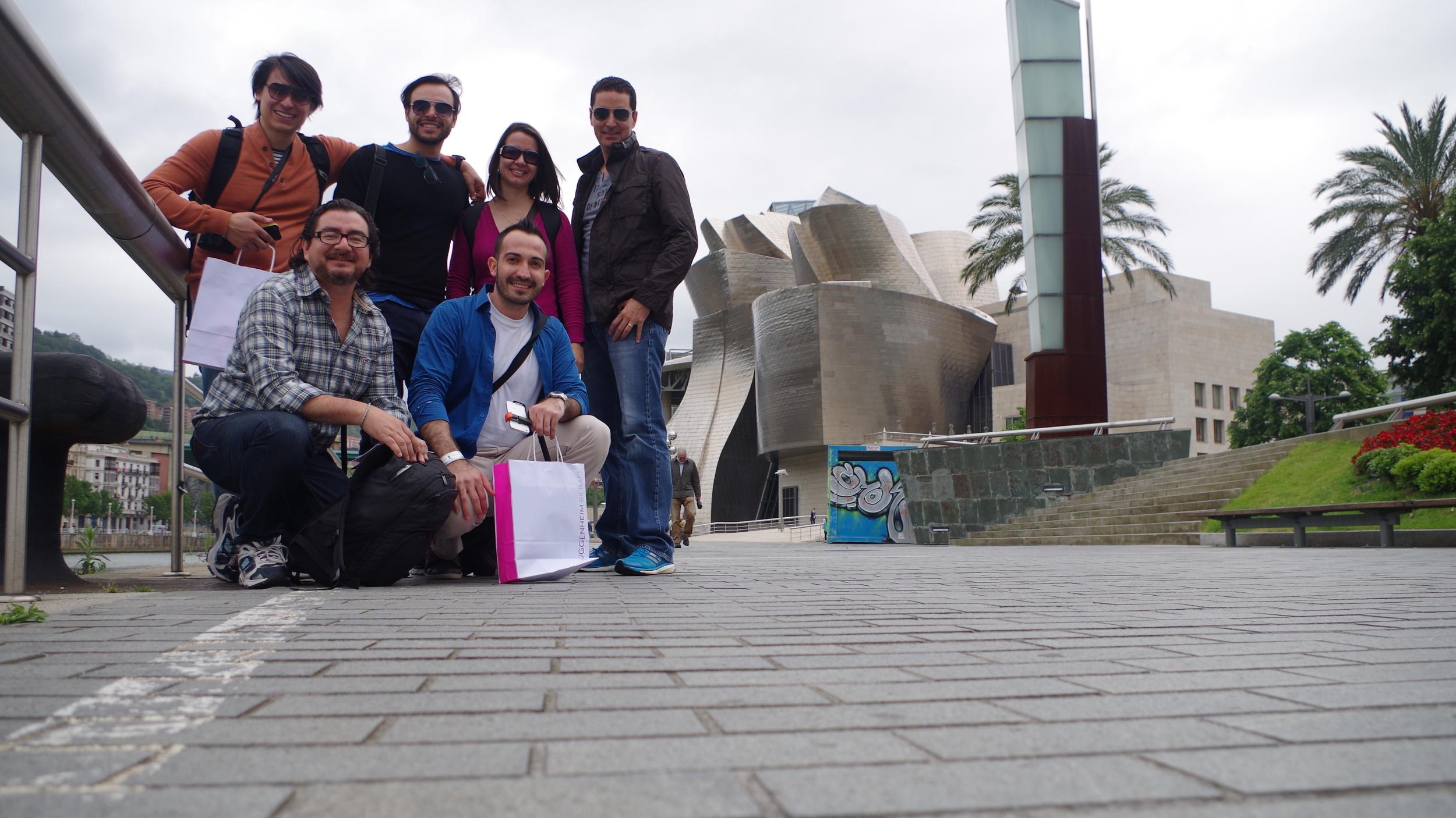 El equipo de arquitectura de Studio Domus: Miguel Yon, Julio Barrios, Laura Estrada, Mauricio Barillas, Alfredo Saravia-Mérida y Félix Cardona.