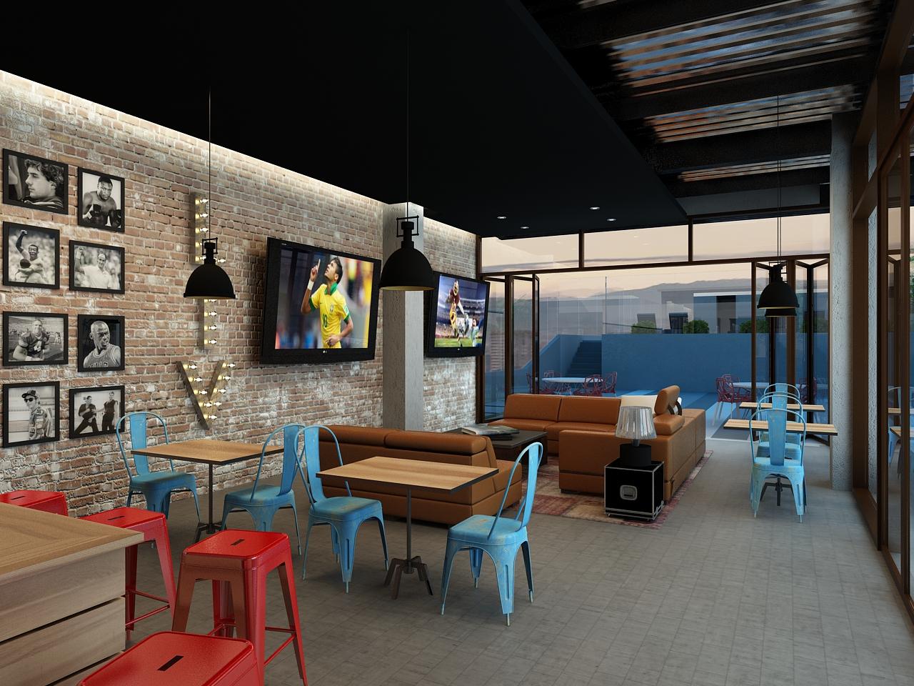 Propuesta de Sports Lounge para LIV.