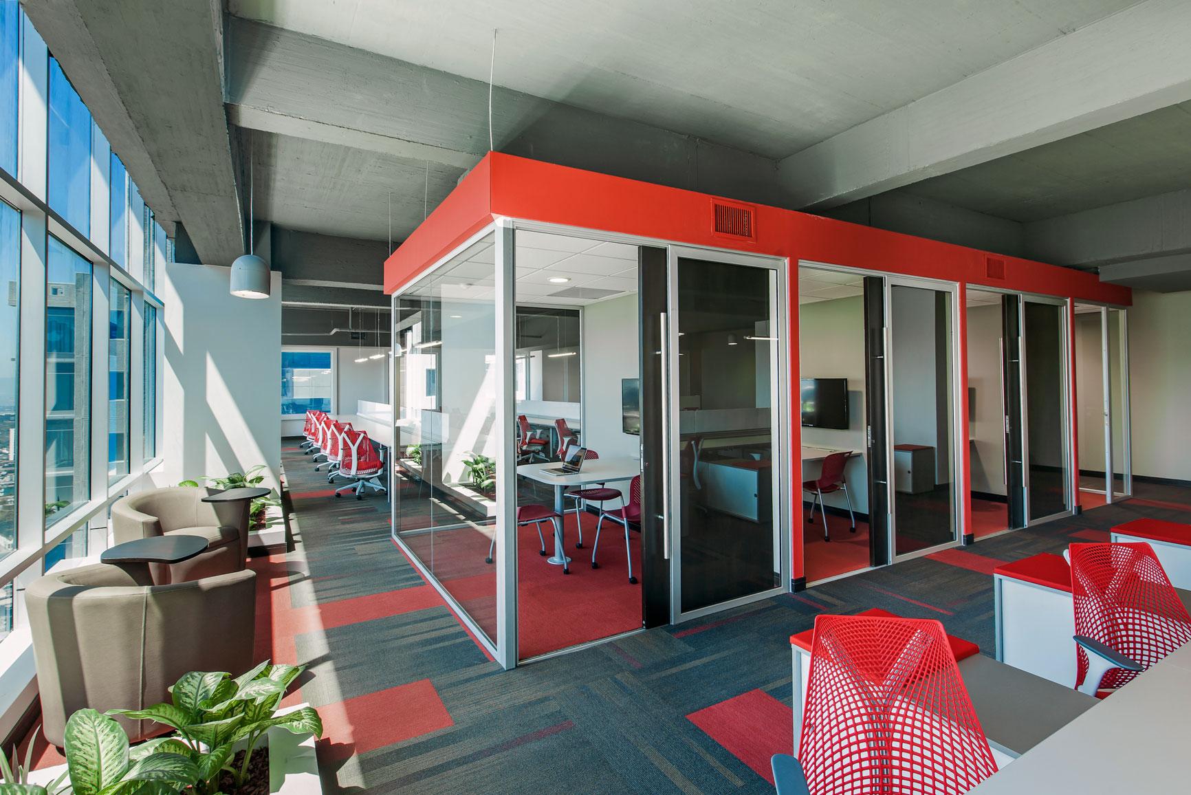En Multiinversiones DIP se generaron cabinas de concentración para el uso de todos.