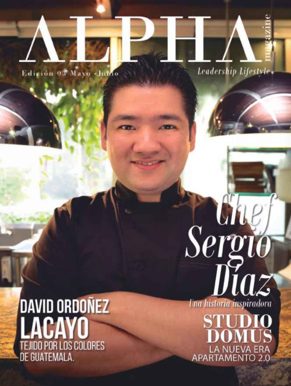 Portada Alpha Magazine - Junio 2017