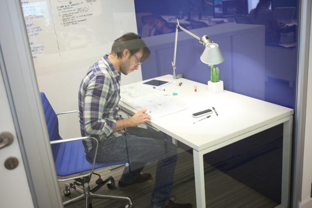 Los espacios de concentración son una necesidad. Por ello se diseñan para momentos específicos acorde a las áreas.