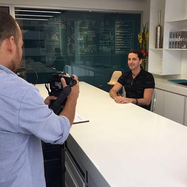 Entrevista con Bienes Inmuebles TV sobre nuestro proyecto Óptima Centro de Negocios.