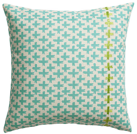 """Bisect 30"""" pillow. $34.95 CAD."""