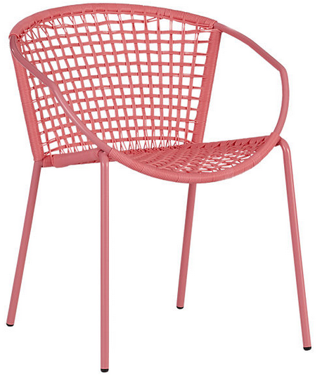 Sophia hot pink dining chair. $84.95 CAD.